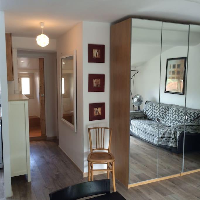 Appartement refait à neuf en 2016