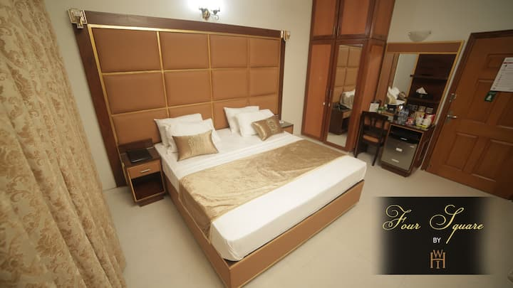 Deluxe Double Room at Four Square by WI Hotels