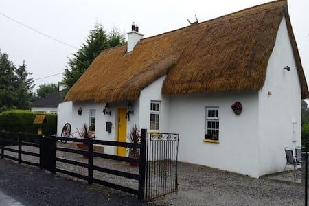 Fitzpatricks Thatched Cottage Laois - Ballacolla - กระท่อม