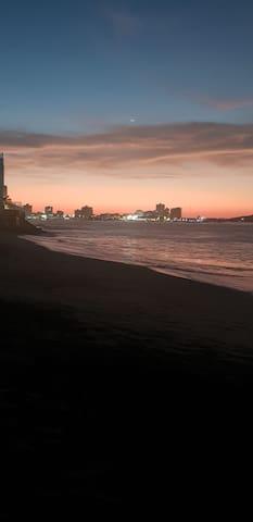 Departamento frente al mar-San Lorenzo