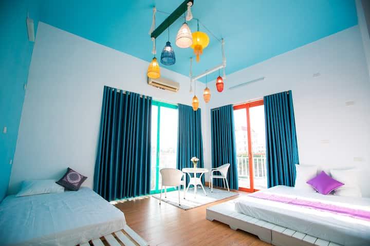 Trang An ao dai homestay - Deluxe room