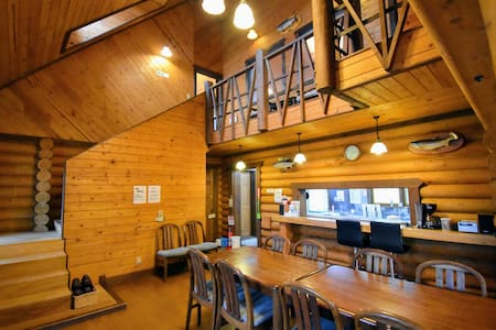 【Log Cottage for 12-16 people】Azumino by TAKITARO