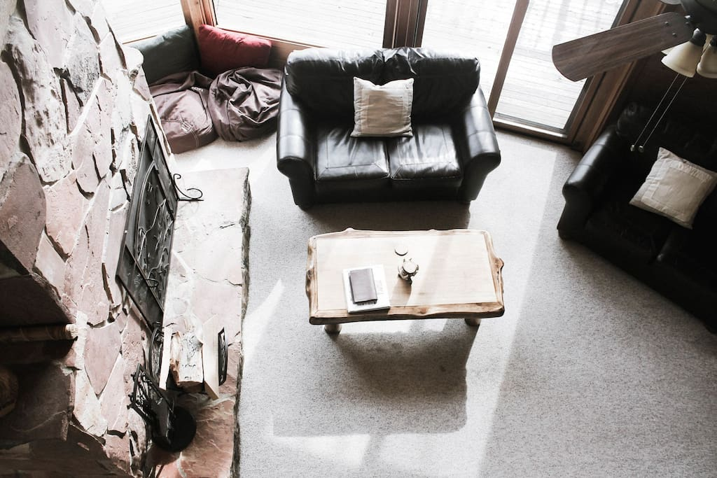 Living Area From Loft
