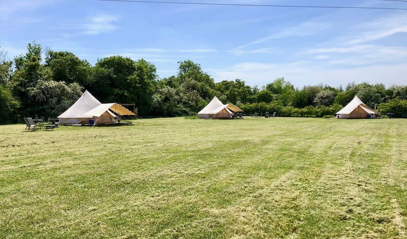 *Glamping* Furnished Bell Tent |