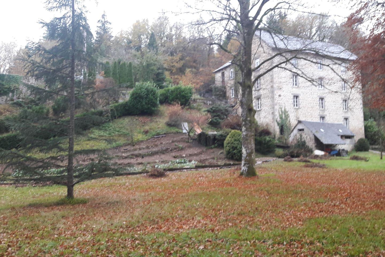Le moulin l'hiver