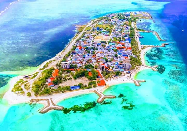Maafushi Village Maldives