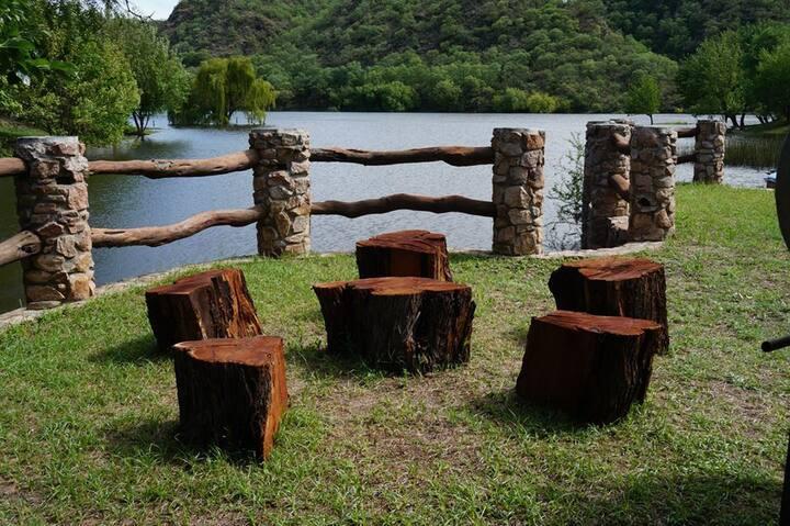 Cabaña a orillas del Lago - Traslasierra