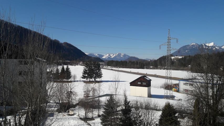 sonniges Apartment bei Bad Ischl mit Panoramablick