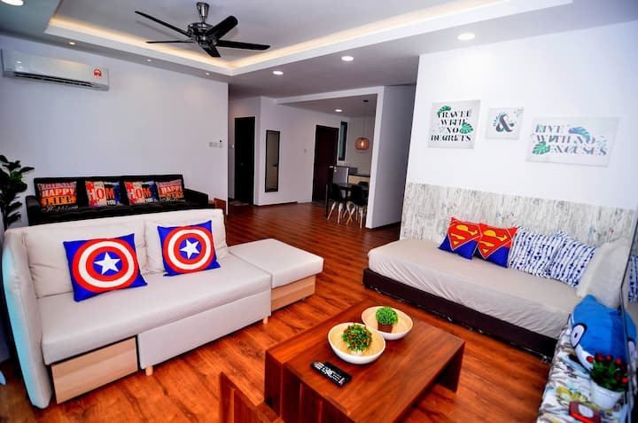 Avengers New Luxury Suite Jazz 1 Vivacity (3BR)