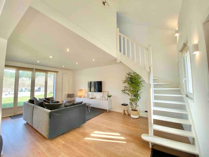 Maison avec accès direct et vue sur les dunes