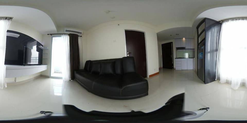 Ruang tamu dan dapur