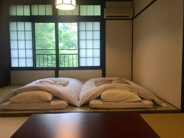 20mins car->HakoneYumotoSta./Double room[no meals]