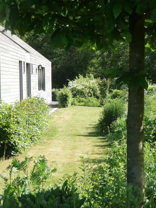 Tuin gasten/Garden guest room