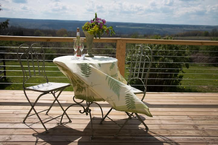 Apartment in the heart of the FLX wine country!