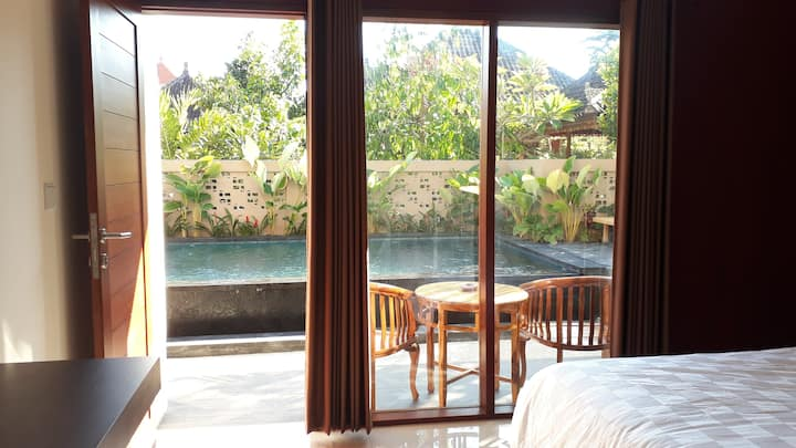 Athaya homestay, Sanur, Pool View , beach 7mnt!