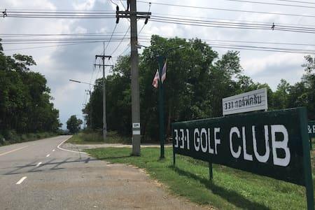 Golf Resort Green stay near BKK airport