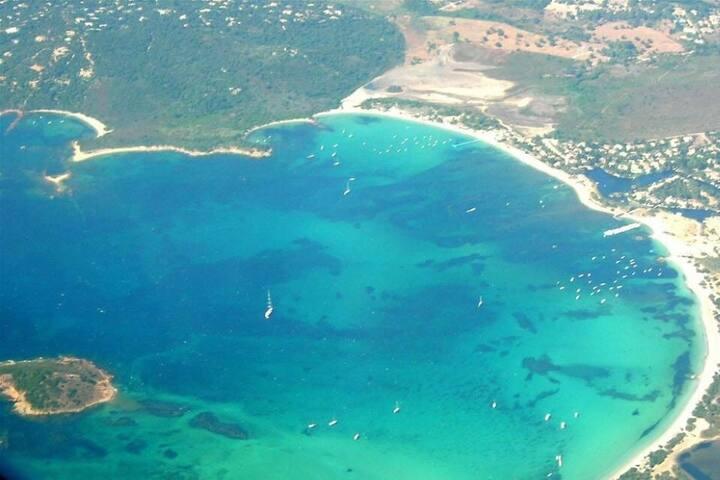 Villa neuve de bord de mer (baie de saint cyprien) - Lecci - Rumah