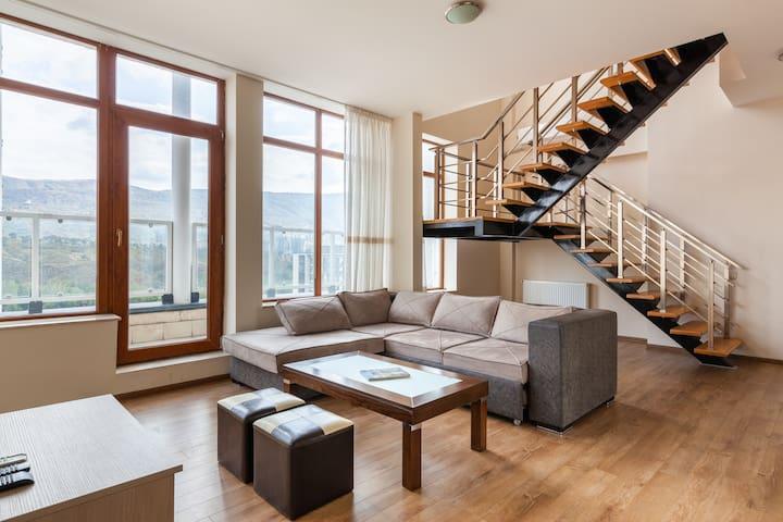 m2 Duplex Penthouse apartment • Large Terrace