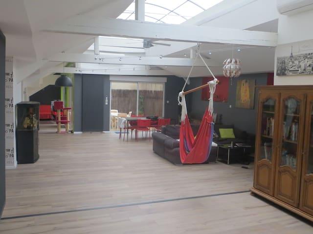 Unique! Magnifique loft 200m2 plein centre-ville - Saint-Étienne - Loft