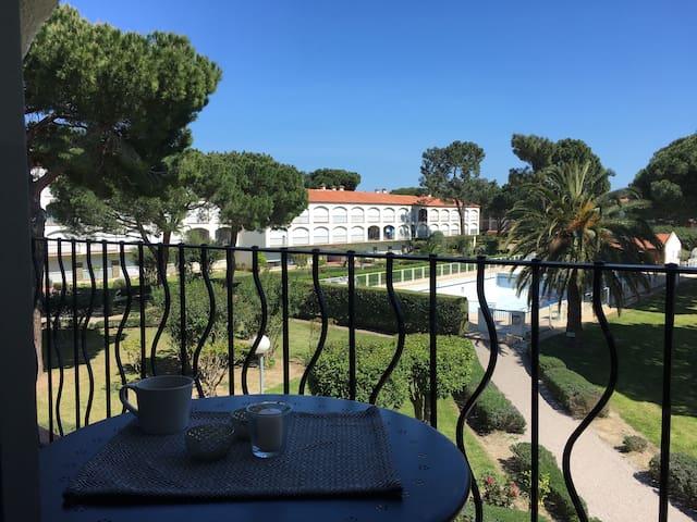 F2 200m de la mer, piscine, tennis - Argelès-sur-Mer - Lejlighed