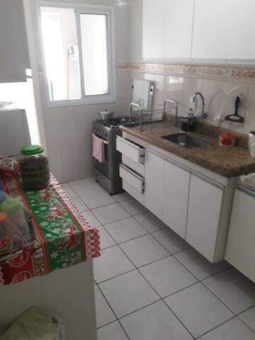 cozinha e area de lavanderia