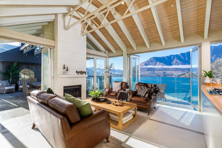 Spectacular Lakefront Home with Majestic Views