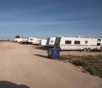 West Texas RV park - Odessa - Husbil/husvagn
