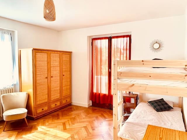 Big room with fully furnished