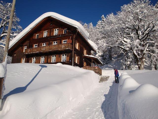 Ferienwohnung Haus Hunduren - Glarus Süd - Condo