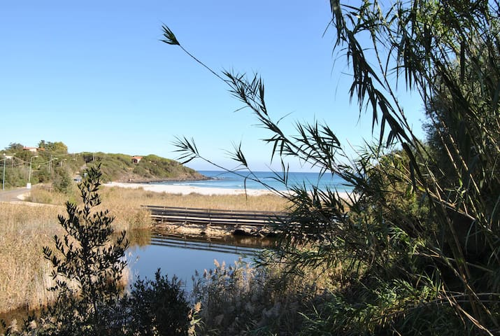 Andreas'house  fronte spiaggia - Sas Linnas Siccas - Casa de camp
