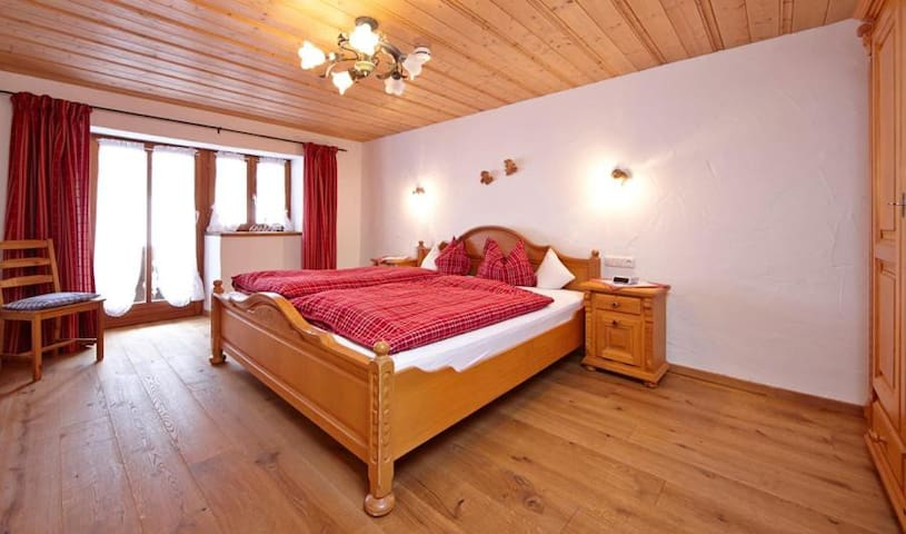 Apartment Waxenstein with Balcony, Mountain View & Wi-Fi, Suitable for Children