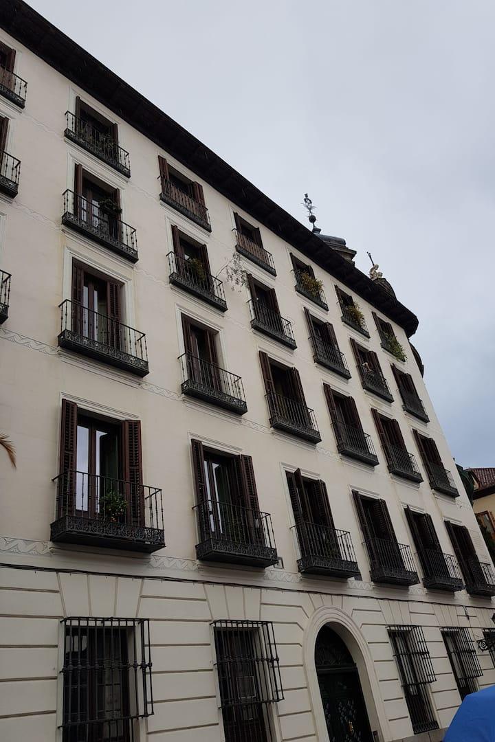 Un Madrid tranquilo y poco turístico.
