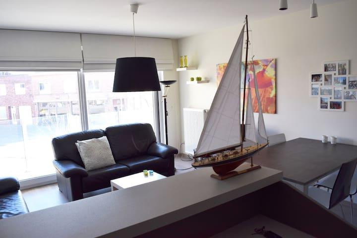 Gezellig appartement in Zeebrugge - Brugge - Apartemen
