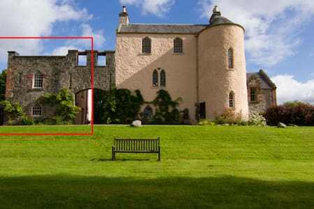 The West Wing at Duchray Castle