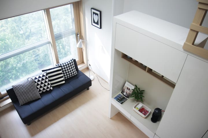 5minLotteworld,Lakeview,Jamsil,잠실,호수뷰복층 - Songpagu Seokchondong  - Apartamento