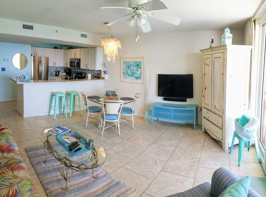 Bright and open space for your comfort and taste