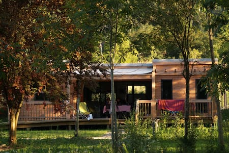 CosyCamp Cottages for 6/8 persons - Chamalières-sur-Loire - Hotel ekologiczny