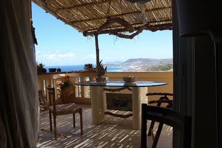 Seaview apt close to Vai and trekking ham4DX - Agia Fotia - Appartement