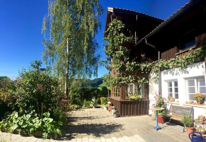 Gemütliche Zweizimmerwohnung im Westallgäu