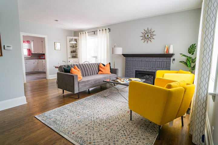 Quaint Retro Style Home