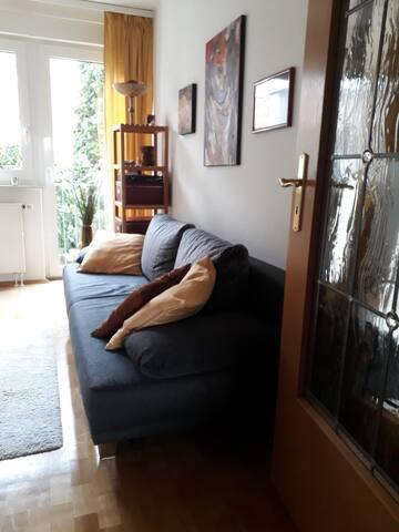 Zimmer in gemütlicher Atmosphäre