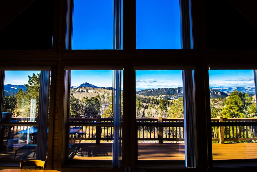 Or enjoy these amazing views from the comfort of the great room.