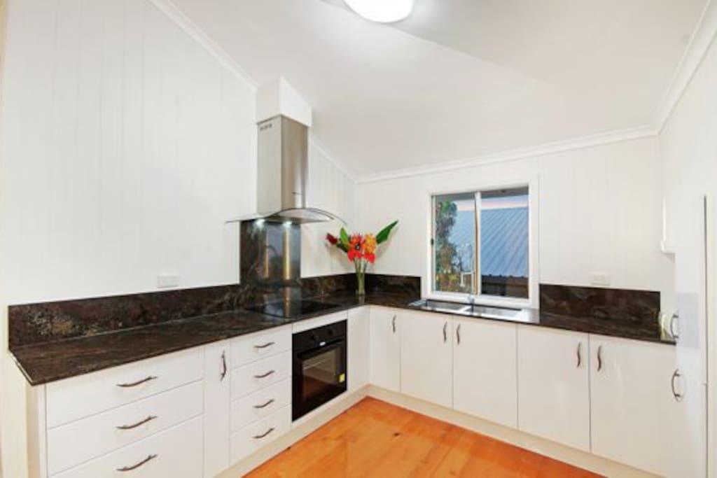 Kitchen upstairs.