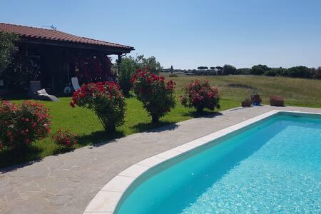 Il Poggio Alla Galeazza: villa con piscina