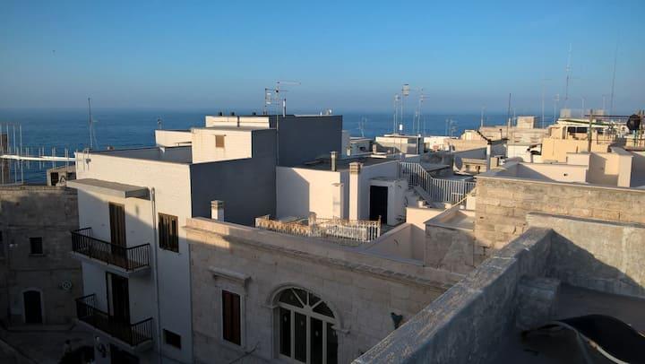 Dimora con vista centro storico