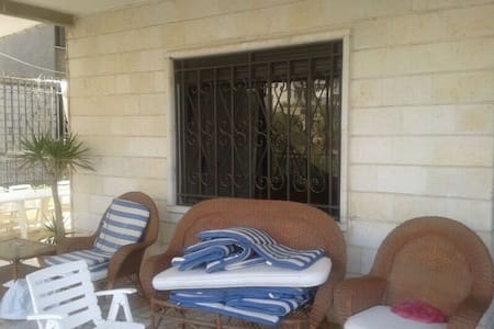 Charming 4 BR Apt with amazing view - Aley - Lakás