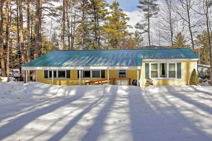 Charming 3BR North Conway House - Conway - Hus