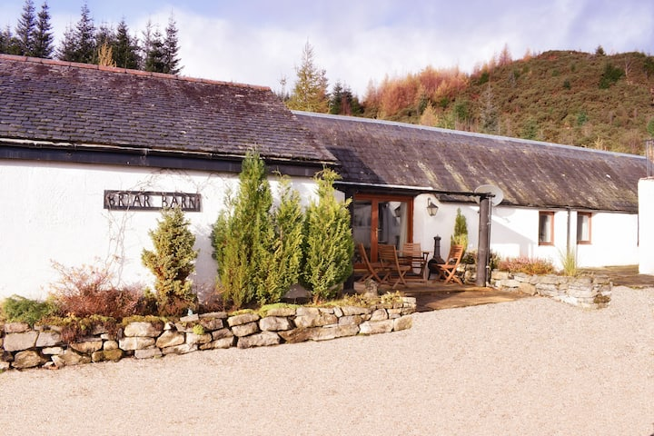 Briar Barn in Forest Location by Loch Ness