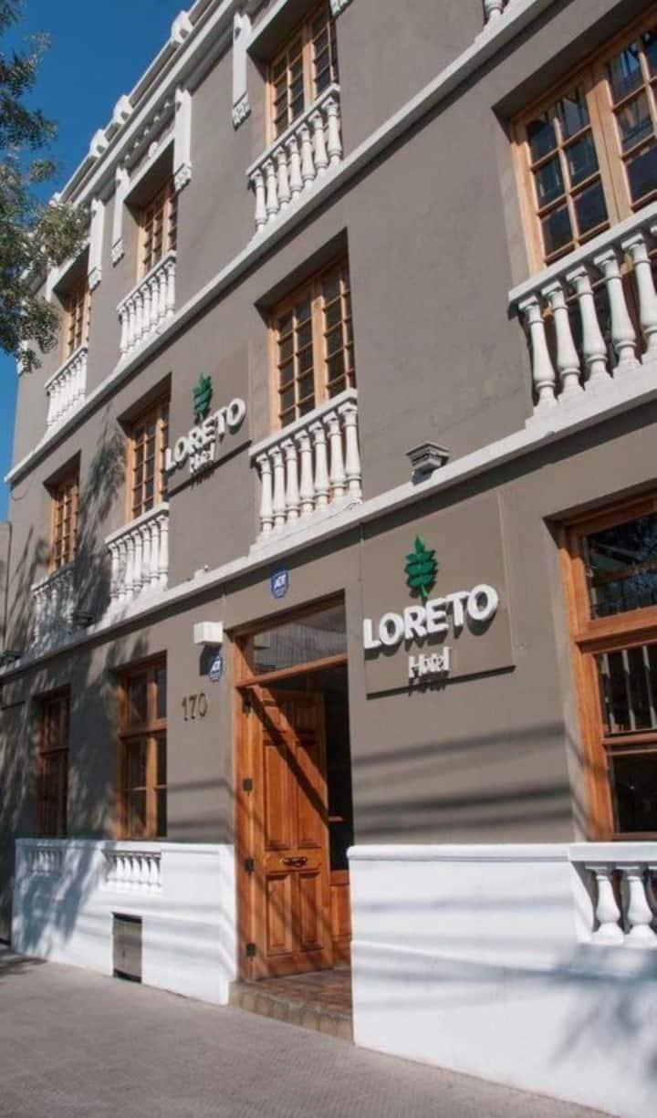Hotel Loreto, viví una experiencia única.