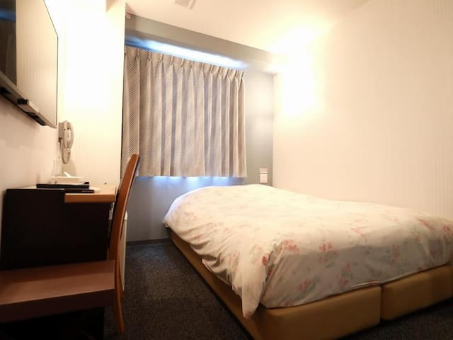 HiroshimaTown Hotel / Standard Double Room Smoking